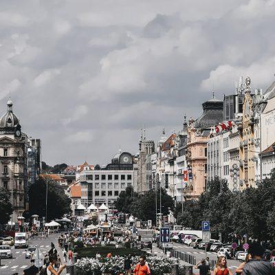 Vaclavske Namesti, Praga