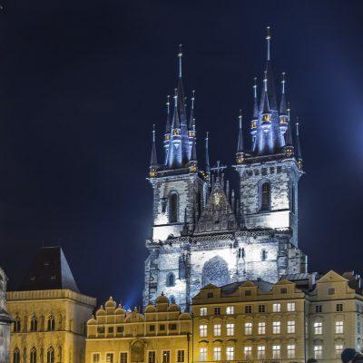 Nuestra Señora de Tyn, Praga
